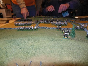 All out attack by Japanese on the Russian left flank.