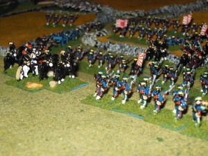 Japanese marching to victory.