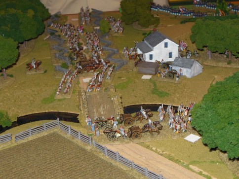 Confederate Left Flank
