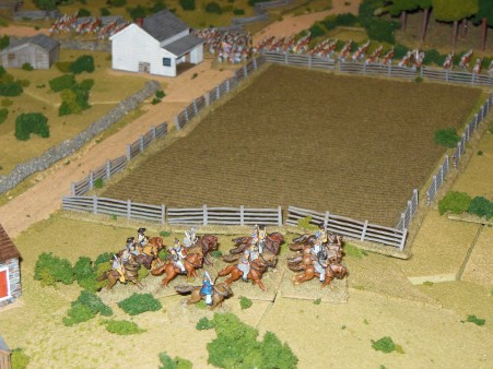 Confederate Cavalry reach Corinth turn 2