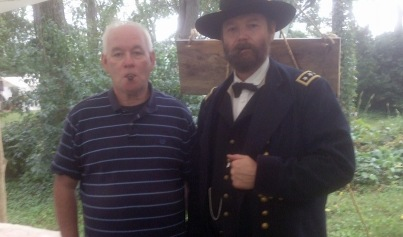 Rick celebrating with a victory cigar with General Grant.