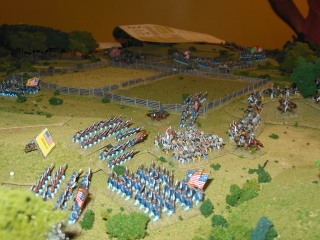 More Union troops lined up for attack