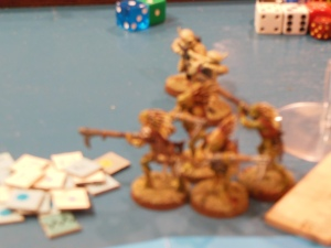Kroot and Tau the first dead of the game.