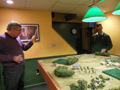Del explaining scenario to George