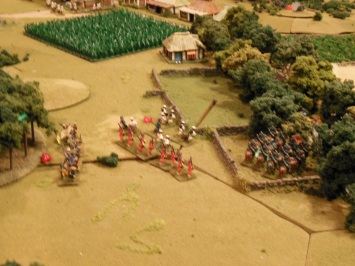Kansu braves charge Japanese engineers