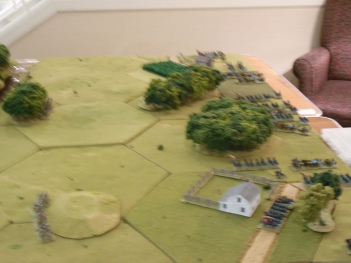 Union forces advance on.