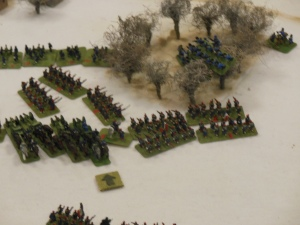 Bavarians attack last turn