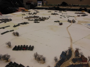 French Cavalry to turn the flank