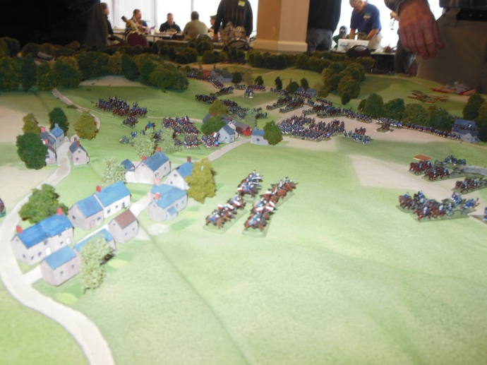 Strong French Right Flank