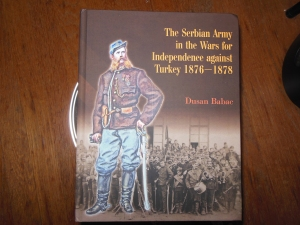 Front of book on Serbian Army 1876-1878