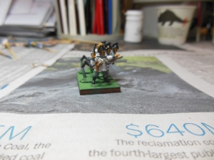 Bavarian Infantry painted as Austrian Dragoons