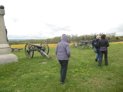 Dreary May morning for the 1st day of Gettysburg