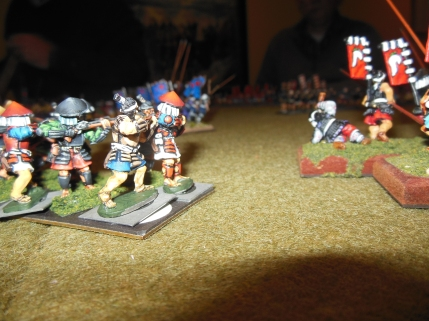 Nice paint job on the matchlock troops