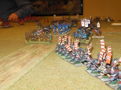 Flank defenses need to move the cavalry