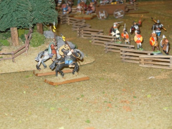 flanking cavalry